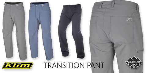 Transition pant all