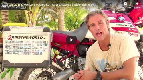Moje zkušenosti s Touratech Suspension - cestovatel Simon Thomas
