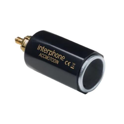 DIN adaptér Interphone z malej motocyklové zásuvky na automobilovú, slim prevedení