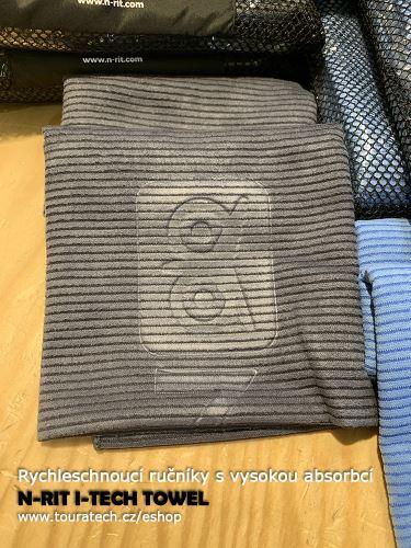 I-Tech ručník šedý