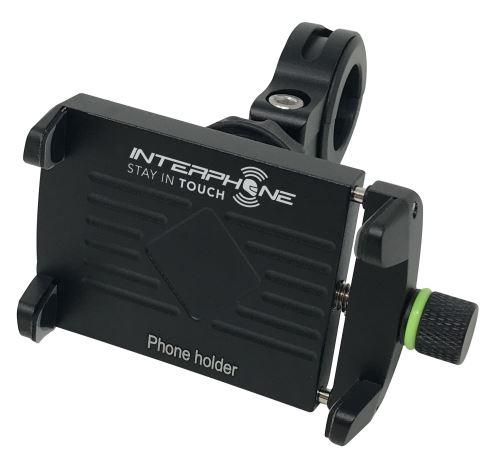 Univerzálny držiak Interphone CRAB Evo Alu s odolnou konštrukciou, úchyt na riadidlá